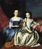 Mary and Elizabeth Royall c1758 - John Singleton Copley