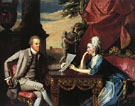 Mr and Mrs Ralph Izard 1775 - John Singleton Copley