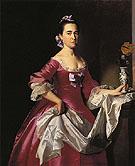 Mrs George Watson Elizabeth Oliver 1765 - John Singleton Copley