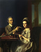 Mr and Mrs Thomas Mifflin 1773 - John Singleton Copley