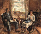 My Mother and Father 1929 - John Steuart Curry