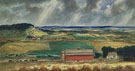Valley of The Wisconsin 1941 - John Steuart Curry