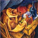 The Drinker - Umberto Boccioni