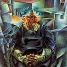 Horizontal Volumes - Umberto Boccioni