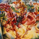 Elasticity 1912 - Umberto Boccioni