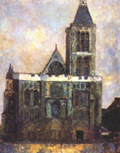 Basilica of St Denis - Maurice Utrillo
