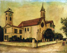 Beaulieu Church - Maurice Utrillo