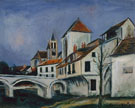 Bridge And Church - Maurice Utrillo
