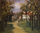 La Butte Pinson A Montmagny 1910 - Maurice Utrillo