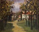 La Butte Pinson A Montmagny 1910 - Maurice Utrillo