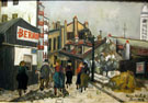 La Maison Bernot 1924 - Maurice Utrillo