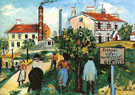 Land Sale At Gentilly - Maurice Utrillo