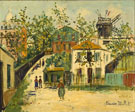 Montmartre 1930 - Maurice Utrillo