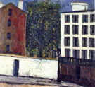 Montmartre Street 1912 - Maurice Utrillo