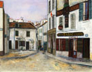 Mother Catherines Restaurant In Montmartre 1917 - Maurice Utrillo