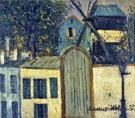 Moulin De La Galette 1912 - Maurice Utrillo