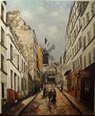 Moulin De La Galette c1908 - Maurice Utrillo