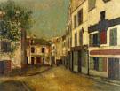 Place Du Tertre In Montmartre 1910 - Maurice Utrillo