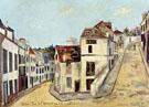 Pontoise Rue De IEperon And Rue De La Coutellerie 1914 - Maurice Utrillo