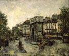 Porta Saint Martin In Parigi 1908 - Maurice Utrillo
