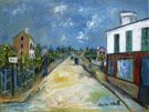 Road In Argenteuil Val Doise 1914 - Maurice Utrillo