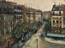 Rue Custine A Montmartre 1909 - Maurice Utrillo