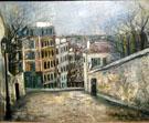 Rue Du Mont 1914 - Maurice Utrillo