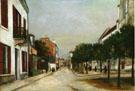 Rue Du Moutier And Place Dl La Mairie At Villejuif 1915 - Maurice Utrillo