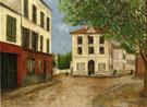 Street In Nanterre 1913 - Maurice Utrillo