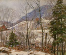 Winter In The Country - George Gardner Symons