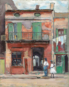 Street Scene Panama - Alson Skinner Clark