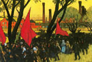 May Day Demostration At The Putilov Plant - Ellen Day Hale