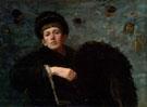 Self Portrait 1885 - Ellen Day Hale