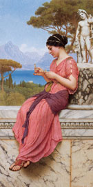 Le Billet Doux 1913 - John William Godward