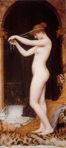 Venus Binding Her Hair 1897 - John William Godward