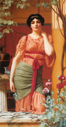 Nerissa 1906 - John William Godward