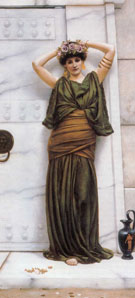 Ianthe 1889 - John William Godward