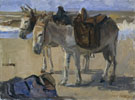 Two Donkeys 1897 - Isaac Israels