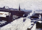 The Station c1886 - Dennis Miller Bunker
