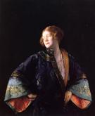 The Blue Mandarin Coat aka The Blue Kimono - Joseph de Camp
