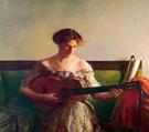 The Guitar Player - Joseph de Camp