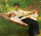 The Hammock - Joseph de Camp