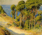 Trees Along The Coast c1893 - Joseph de Camp