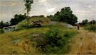 Connecticut Scene at Branchville - Julian Alden Weir