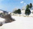 Hush of Winter 1911 - Willard Leroy Metcalfe