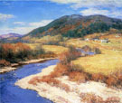Indian Summer Vermont 1822 - Willard Leroy Metcalfe