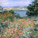 Poppy Garden 1905 - Willard Leroy Metcalfe