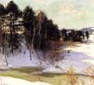 Thawing Brook 1911 - Willard Leroy Metcalfe