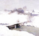 The White Mantle 1906 - Willard Leroy Metcalfe