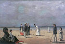 A Game of Croquet - Louise Abeema